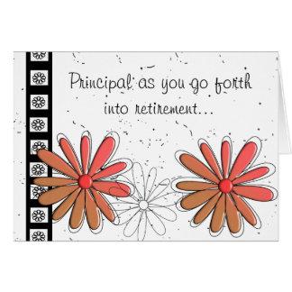 School Principal Retirement Card II