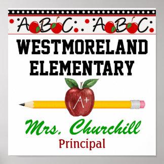School Principal / Teacher Poster - SRF