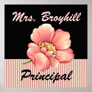 School - Principal - Teacher Welcome - SRF Poster