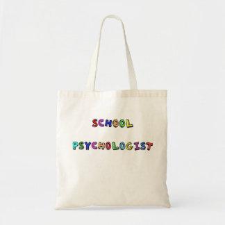 SCHOOL PSYCHOLOGIST BUDGET TOTE BAG