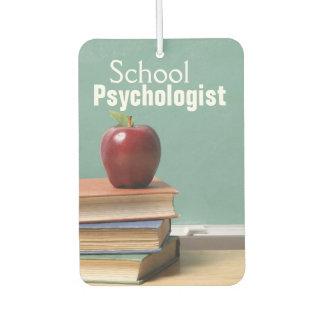 School Psychologist Car Air Freshener