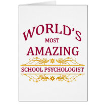 School Psychologist Card