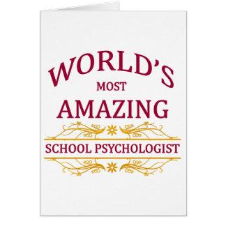 School Psychologist Card