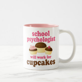 School Psychologist (Funny) Gift Two-Tone Coffee Mug