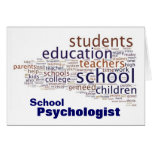 School Psychologist Note Cards