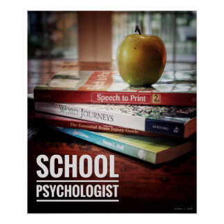 School Psychologist Office Poster Print