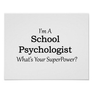 School Psychologist Poster