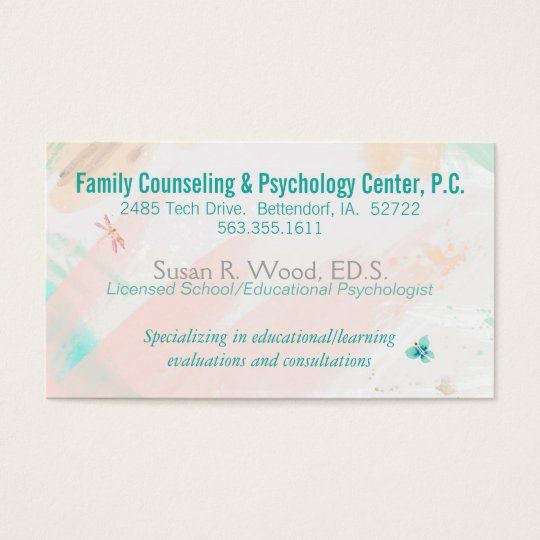 zazzle psychology business cards image collections card design and card template. Black Bedroom Furniture Sets. Home Design Ideas