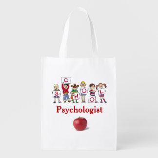 School Psychologist Reusable Grocery Bag