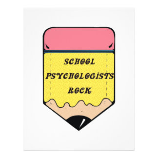 SCHOOL PSYCHOLOGIST ROCK FLYER