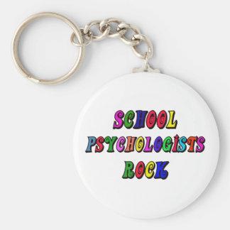 SCHOOL PSYCHOLOGIST ROCK KEYCHAINS