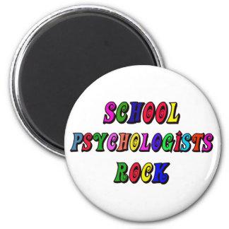 SCHOOL PSYCHOLOGIST ROCK MAGNET