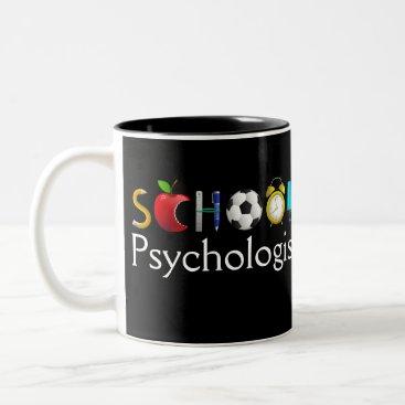 Coffee Themed School Psychologist School-Daze Mug