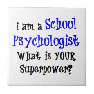 school psychologist tile