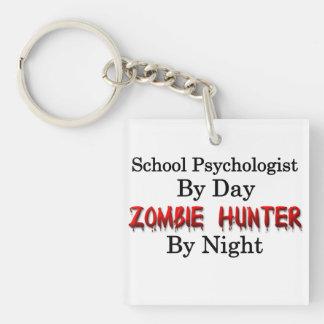 School Psychologist/Zombie Hunter Keychain