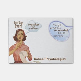 School Psychologist's BEST DAY EVER Sticky Notes
