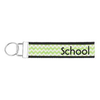 School Psychologist's Chevron Wrist Key Chain