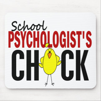 School Psychologist's Chick Mouse Pad