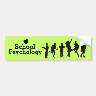 School Psychology Bumper Sticker