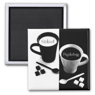 School Psychology Coffee Magnet