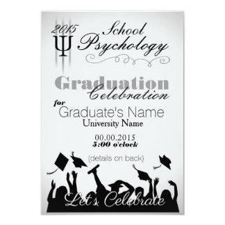 School Psychology Graduate Party Invitation