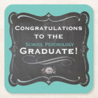 School Psychology Graduation Coasters
