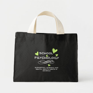 School Psychology Heart Tote 2