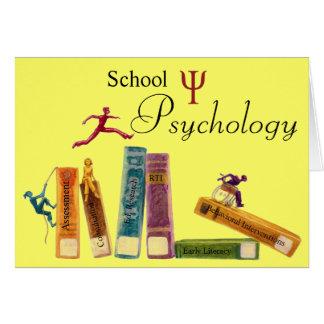 School Psychology Note Cards