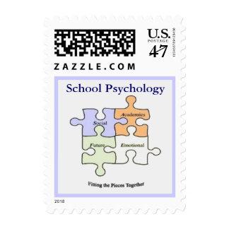 School Psychology Postage Stamp