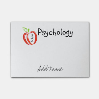 School Psychology Style Post-it® Notes