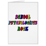 SCHOOL PSYCOLOGIST ROCK GREETING CARDS