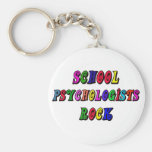 SCHOOL PSYCOLOGIST ROCK KEYCHAINS