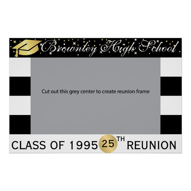School Reunion photo frame Poster