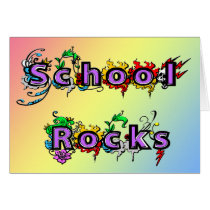 School Rocks Card