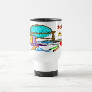 School Rocks - School Supplies 15 Oz Stainless Steel Travel Mug