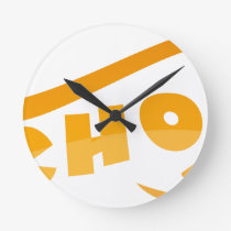 School Round Clock