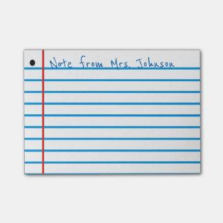 School Rule Post-it Notes