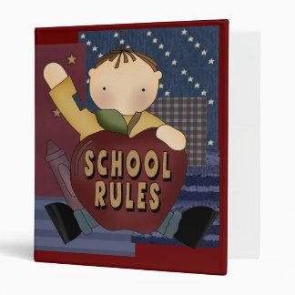 School Rules Avery Binder