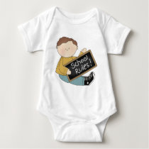 School Rules Baby Baby Bodysuit