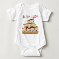 School Rules Baby Bodysuit