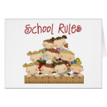 School Rules Cards