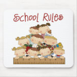 School Rules Mouse Pad