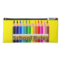 School Rules Pencil Case