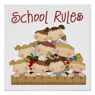 School Rules Poster