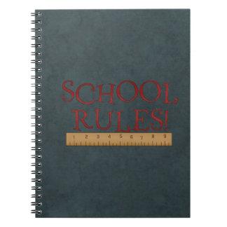 School Rules Spiral Student/Teacher Notebook