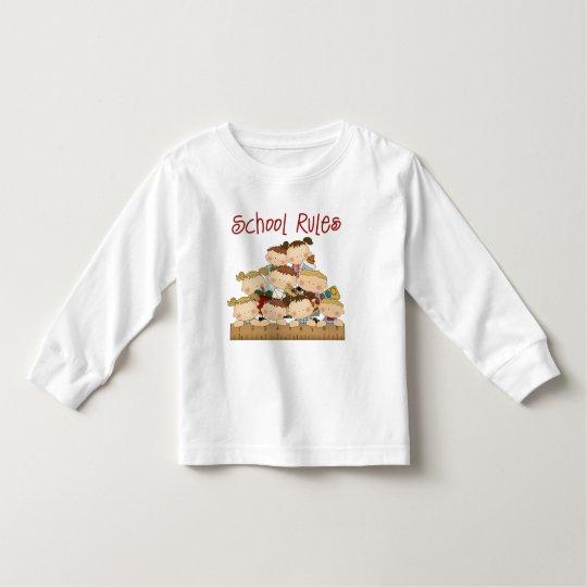 School Rules Toddler T-shirt