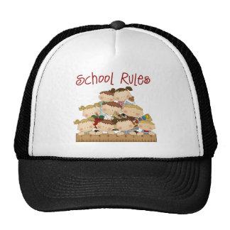 School Rules Trucker Hat