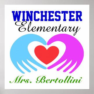School / School Teacher - SRF Posters