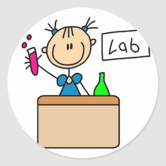 School Science Lab Sticker