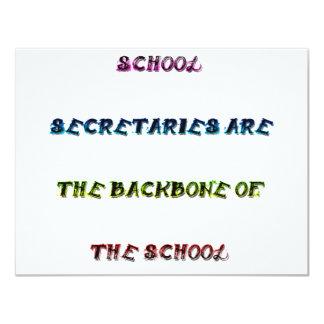 SCHOOL SECRETARIES CARD